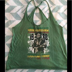 "Distressed Bob Marley 1980 ""Concert Tank Top"""